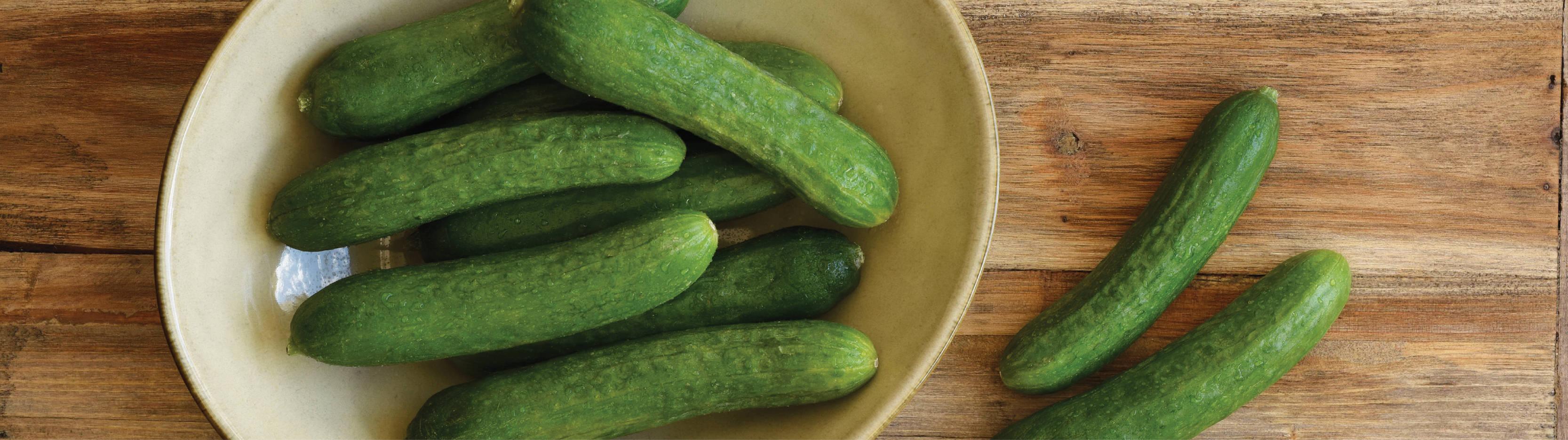 scrumptious mini® cucumbers