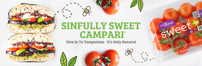 sinfully sweet campari® tomatoes