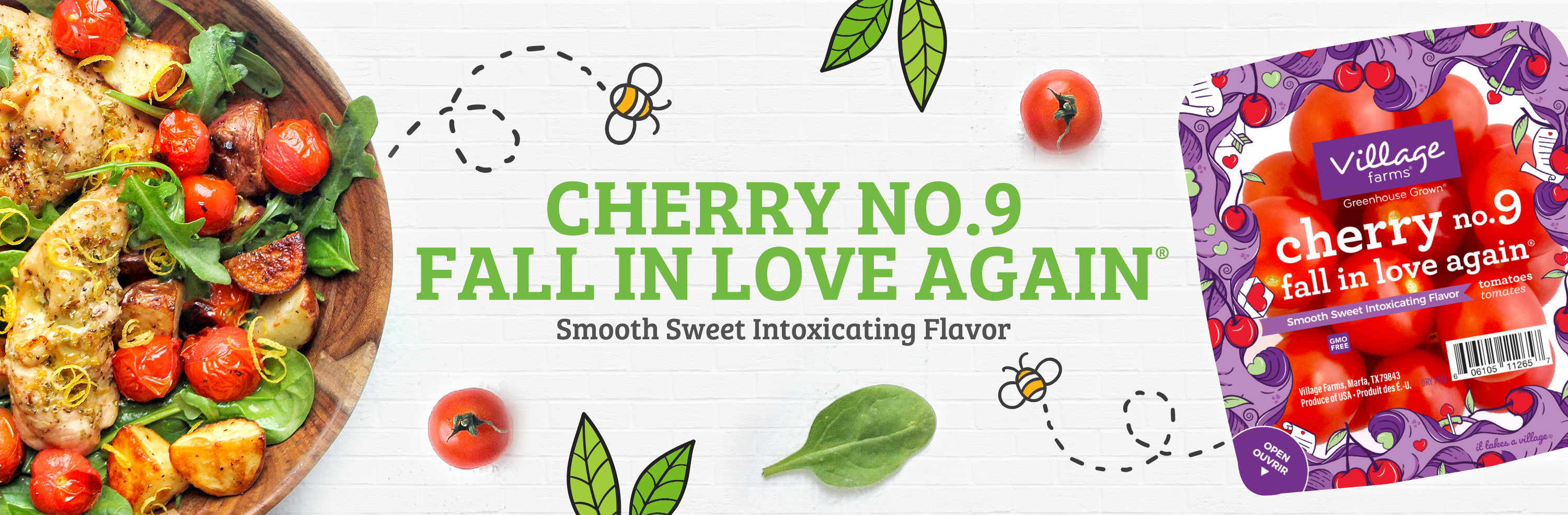cherry no. 9 fall in love again® tomatoes