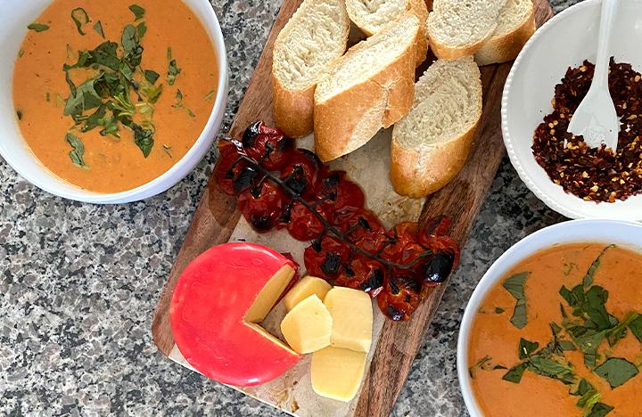 5 Step Roasted Tomato Soup